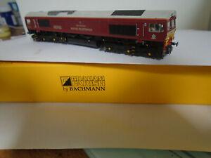 Farish-Bachmann-Klasse-66743-Belmond-Royal-Scotsman-DCC-6-Pin-Ready-Repaint