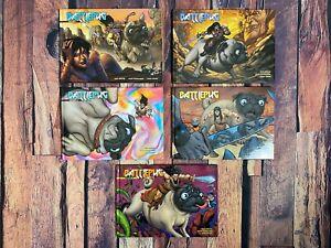 BATTLEPUG Vol 1-4 Hardcover Graphic Novels 2012 Image Comics Mike Norton NEW
