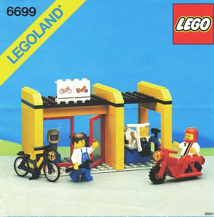 NEW Lego Classic Town 6699 Cycle Fix-It Shop LEGOLAND Sealed - Ships World Wide