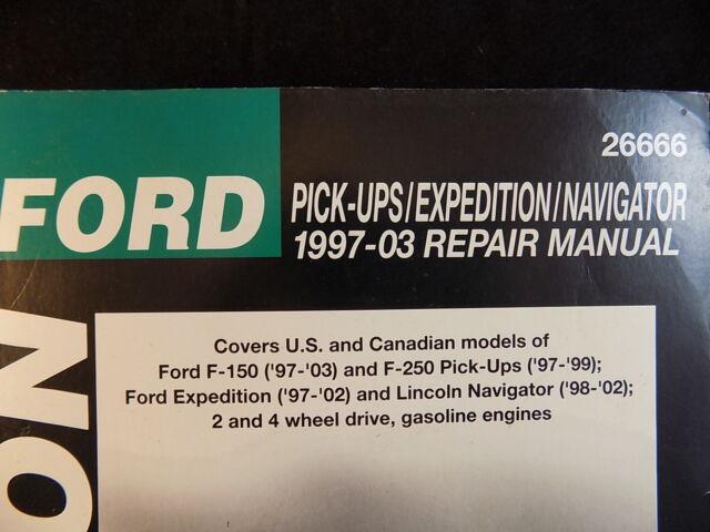 02 expedition repair manual