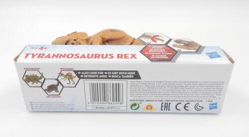 HASBRO Jurassic World//Tyrannosaurus Rex b1830-Action Personaggio-Nuovo//Scatola Originale NEW
