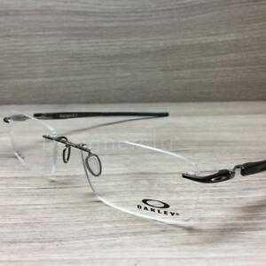 24f4eaac37 Oakley Gauge 3.1 Titanium Eyeglasses Pewter OX5126-0252 Authentic ...