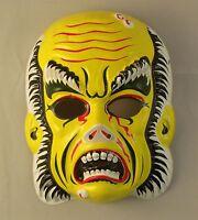 Vintage 1970's Phantom Of The Opera Vacuform Plastic Halloween Mask