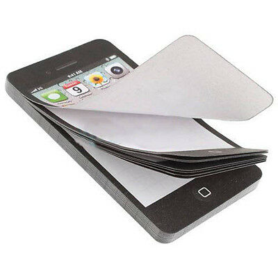 Sticky Post-It Note Paper Cell Phone Memo Pad Scratch Pad Office Stationery Gift
