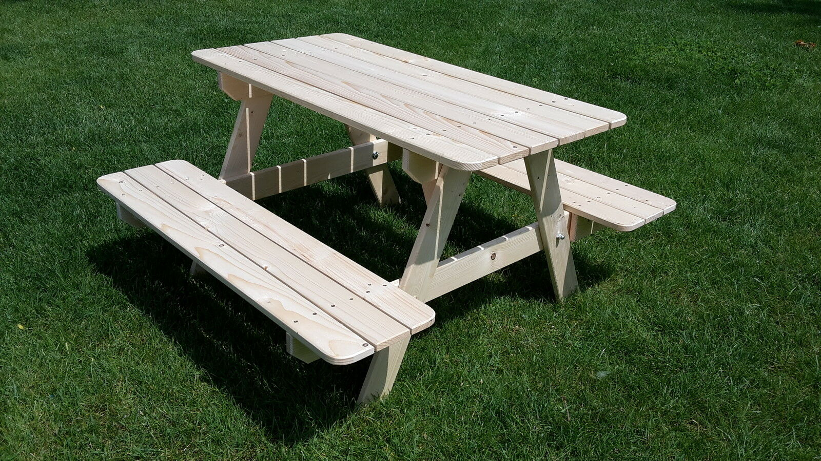 picknicktisch kinder holz kindertisch kindersitzgruppe 4 sitzer gartenbank tisch ebay. Black Bedroom Furniture Sets. Home Design Ideas