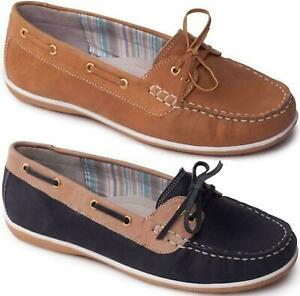 Padders-MARINA-Ladies-Leather-Comfortable-Wide-E-Fit-Slip-On-Moaccasin-Loafers