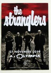 Rare-flyer-THE-STRANGLERS-Paris-Olympia-27-11-2019-Not-a-Ticket