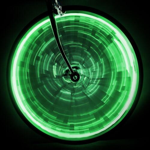 2 Sunlite Green Wheel lights