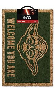 Official-Star-Wars-Yoda-Door-Mat-Welcome-You-Are-Novelty-Film-Home-Gift