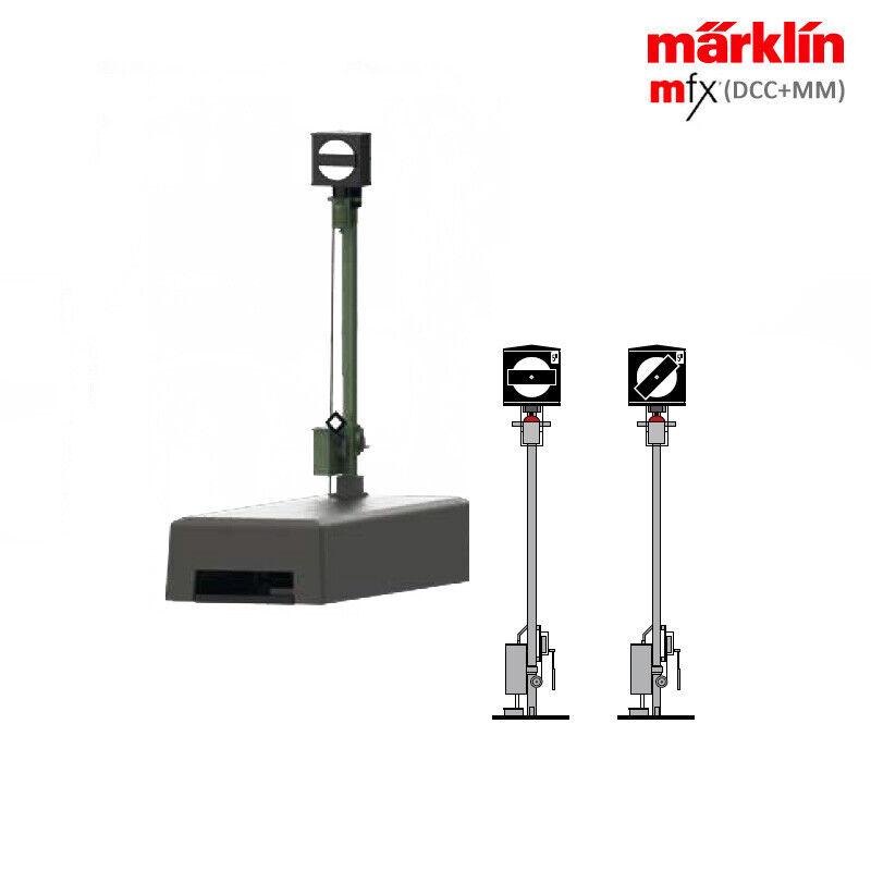 Märklin 70421 gleissperrsignal incl. descodificador (mfx, DCC + mm)