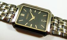 Seiko SLK057 Black/Gold Tone Stainless Steel V739-5A98 Sample Watch NON-WORKING
