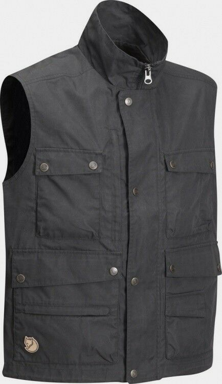 Fjäll Räven Reporter Lite Vest Dark Grey  Men's Vest G-1000 Lite  creative products