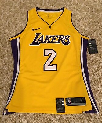 release date: a65c1 66898 Nike NBA Swingman Jersey Lakers Yellow 867048-736 XL 48 #2 Lonzo Ball $110  New | eBay