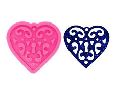 Silicone Hand With heart Mold Korean Sign Epoxy Craft Resin Keychain Mould Polym