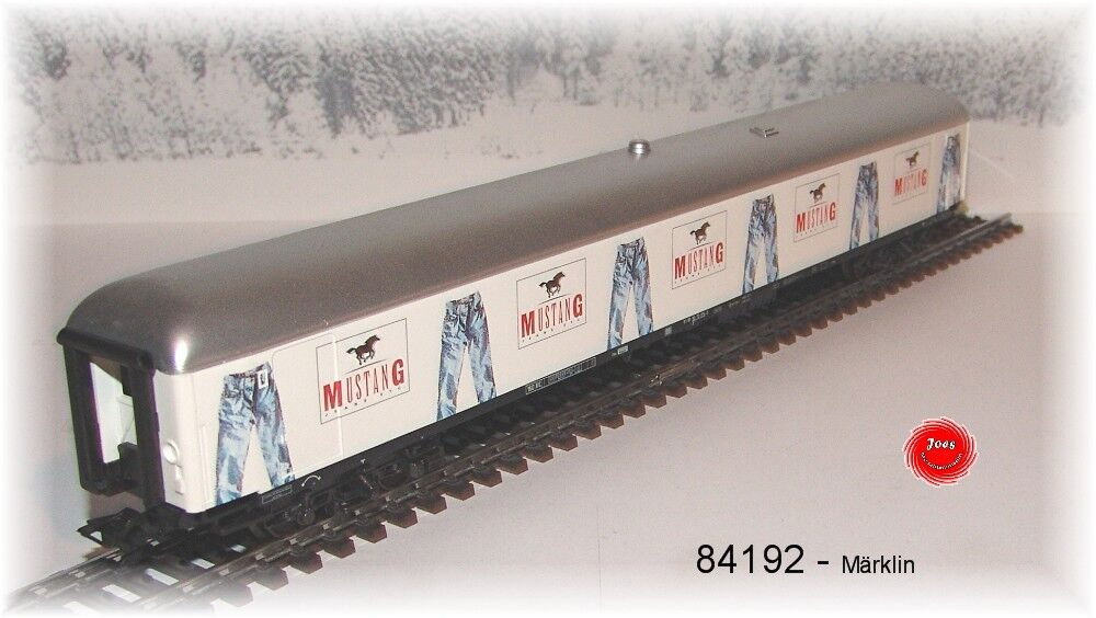 Märklin 84192 - Wagon de Marchandises Mustang A1320 Neuf Emballage D'Origine