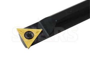 """SHARS 91° TBBN//S 1//2 X 6/"""" INDEXABLE BORING BAR W// 1 FREE TPGT 32/_ INSERT NEW"""