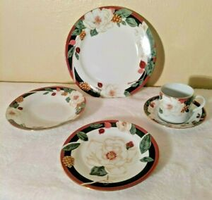Tienshan-China-Magnolia-5-Piece-Place-Setting