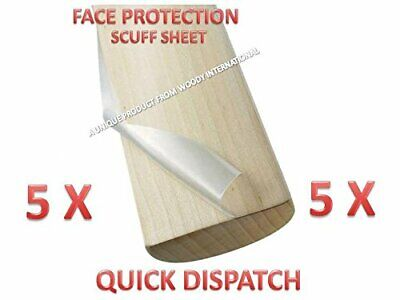 5X Champion Cricket Bat Safety Anti Crack Water Proof English Tape Scuff Sheet