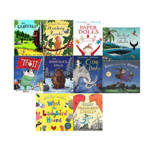 Julia-Donaldson-Gruffalo-Collection-10-Books-Set-NEW-Ladybird-Gruffalo