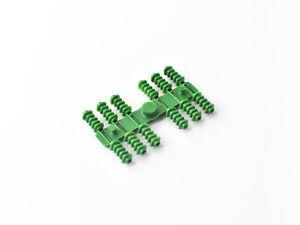 Sommerfeldt 850 Rillen-Isolator - 24 Stk. im Beutel - Spur 0 (4,5x9,6mm) - grün