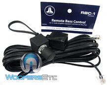 JL AUDIO RBC-1 BASS KNOB FOR BASS AMPLIFIERS 1000/1 500/1 250/1 V2 AMPS RBC1 NEW