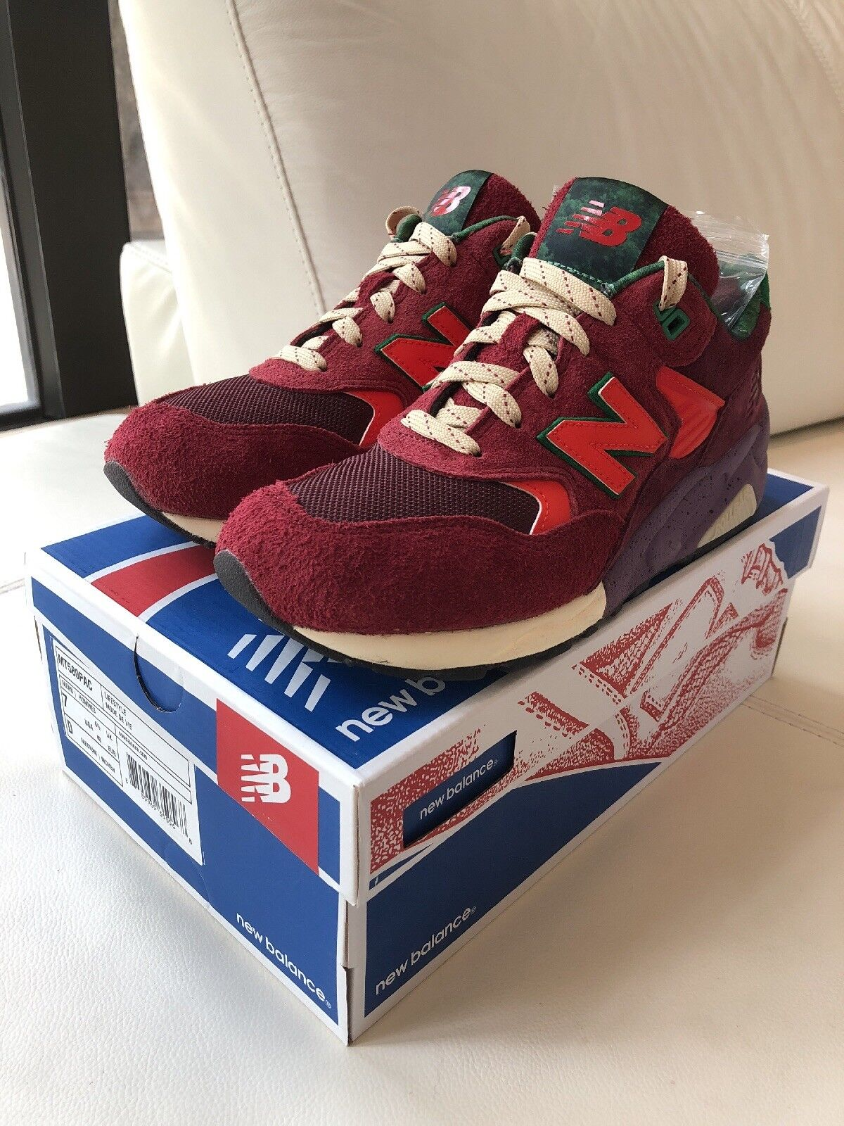 Packer x New Balance MT580  Pine Barrens  Size 7- LIMITED 500  Pre-Owned Worn 2X