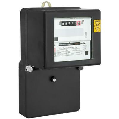 230V//10//40A Stromzähler für Wechselstrom einphasig regeneriert und eichfähig