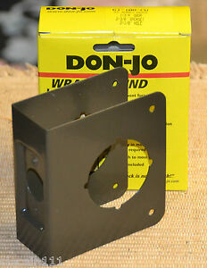 Don-Jo Wrap Around Security Plates For CYLINDRICAL DOOR ...