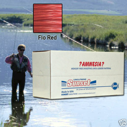 AMNESIA MEMORY  FREE FISHING LINE 30 LB RED SS06430X10  most preferential