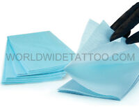 Thick 3ply Dental Bib Cover For Tattoo Work Station Equipment (13 X 17 Inch)
