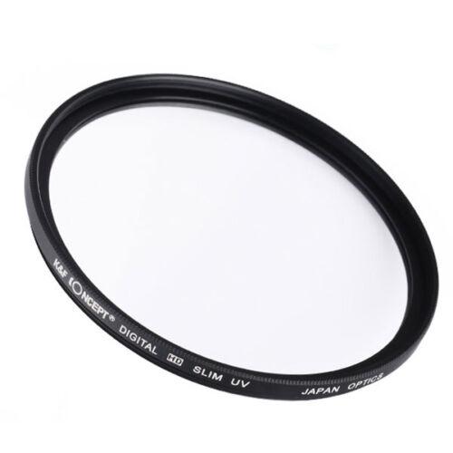 K/&F Concept 82mm Digital HD Slim UV Protection Filter for DSLR Camera Lens