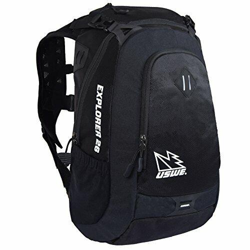 USWE sport Explorer 26Back Pack, Unisex, Explorer 26, Nero Corvo, S XL k4M