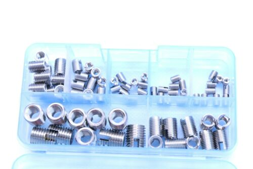 70 x conexiones de rosca rosca hembra Cjto de reparación acero inoxidable m2 m2.5 m3 m4 m5 m6 M
