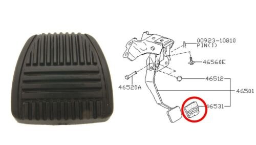SC Lexus ES Clutch Pedal Pad fits for various Toyota /& Nissan Infiniti G