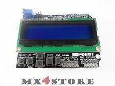 LCD Keypad 1602 blau weiss HD44780 Shield UNO Mega Arduino 182