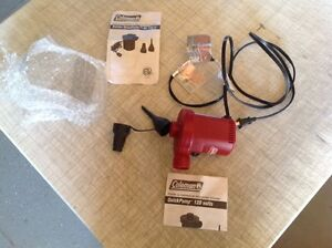 Coleman 120v Air Pump/Air Pump/Air bed Pump