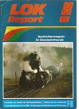 LOK REPORT 06-85 DAMPFLOK-BAUREIHE 78 DER OBB / GUTERZUGE AUF NEBENBAHNEN