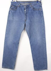 Levi's Strauss & Co Hommes 501 Jeans Jambe Droite Taille W38 L32 BBZ481