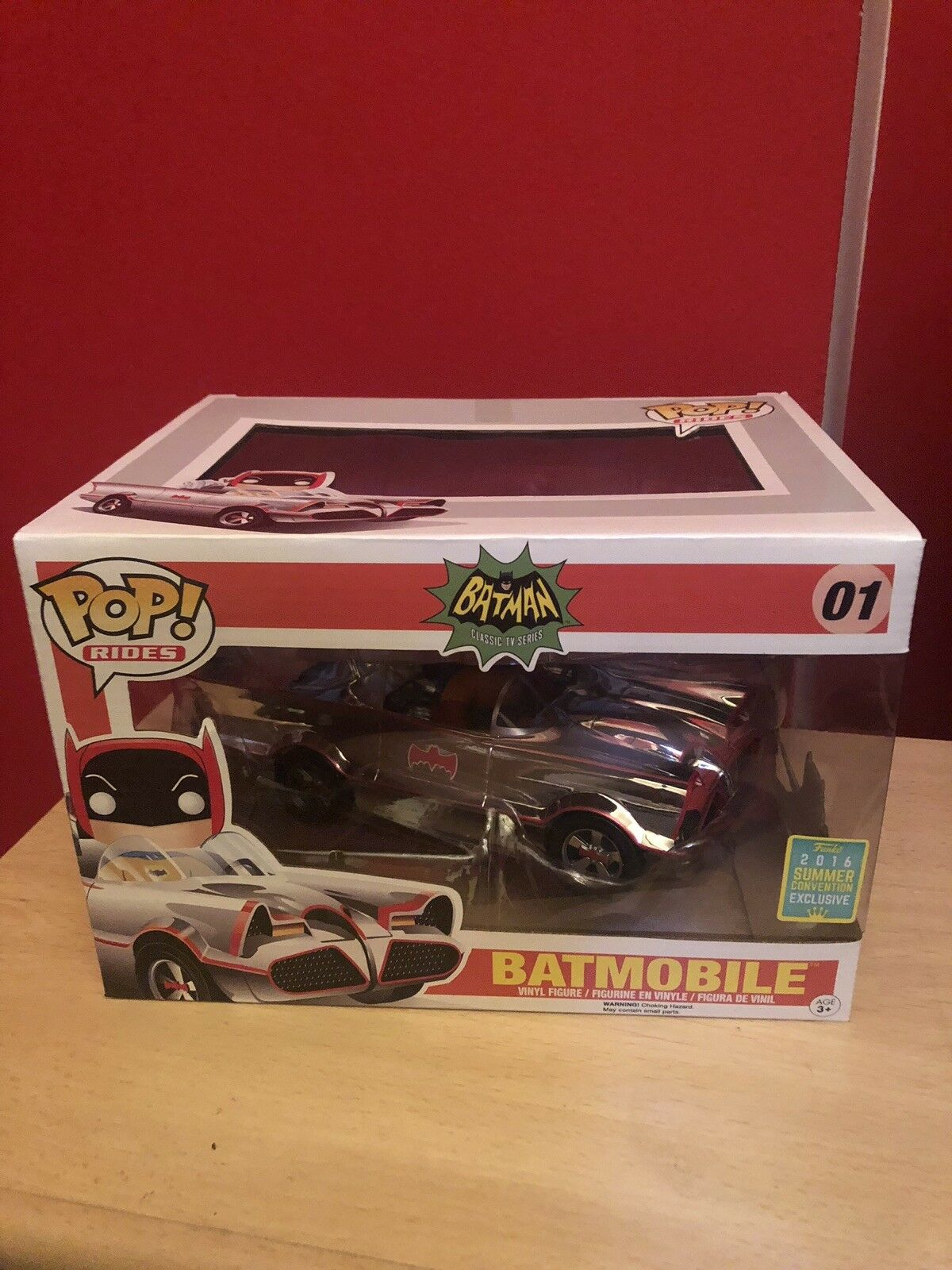 Funko Pop BatMobile 2016 Summer Convention Exclusive