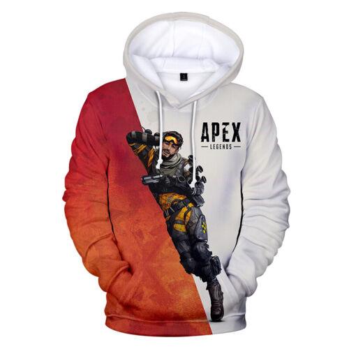 Apex Legends Kinder Herren Hoodie Sports Kapuzenpullover Sweatshirt Pullover Top