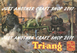 Triang Railways 1962 A3 Size Poster Sign Leaflet based on catalogue front cover