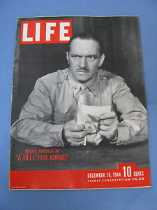 Details about LIFE MAGAZINE DECEMBER 18 1944 WWII GERMANY BRITAIN HOLLAND  FRED ALLEN
