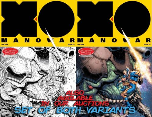 X-O MANOWAR #1 Exclusive SKETCH Variant with 8 EXTRA EXCLUSIVE Content Pages VEI