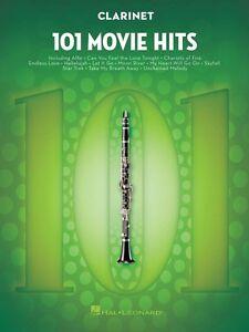 101 Film Hits Pour Clarinette Instrumental Folio Livre Neuf 000158088-afficher Le Titre D'origine 50% De RéDuction
