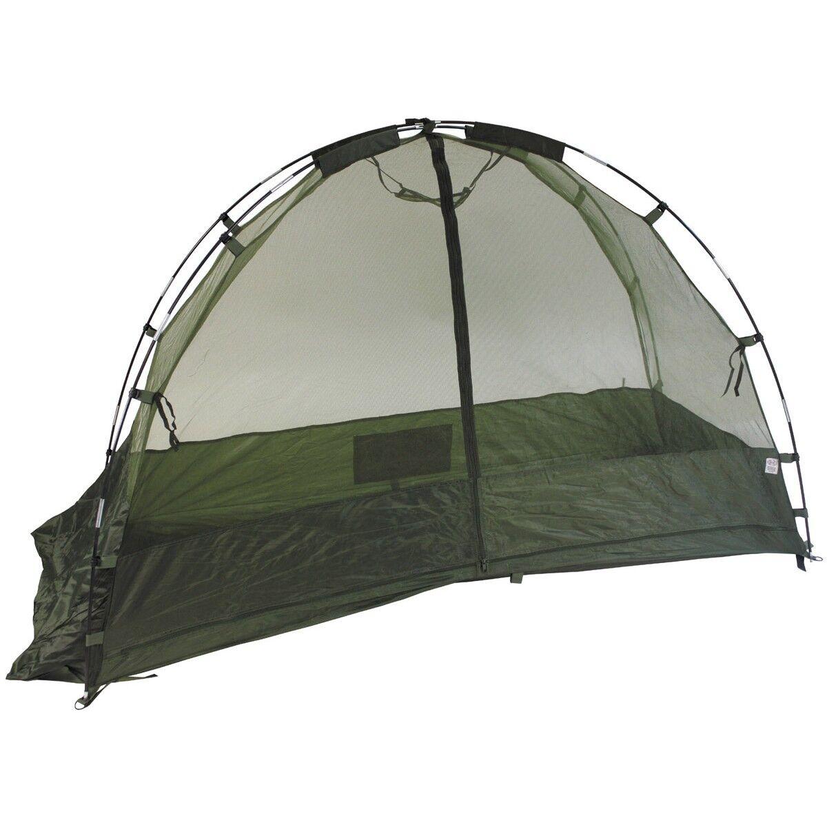 MFH Cuna Mosquitero militar acampada viajes en forma de tienda verde OD