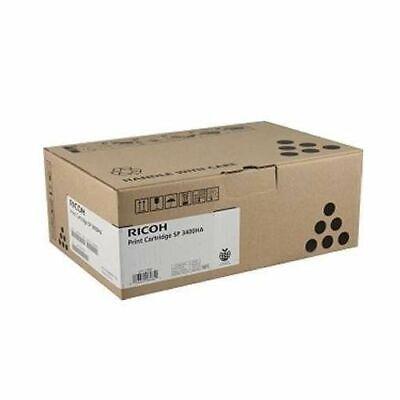 Genuine Ricoh 406465 Toner Cartridge NO BOX FACTORY SEALED BAG Type SP3400HA