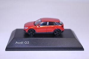 Audi-Q2-Corallo-Arancio-1-87-Produttore-Herpa-5011602622