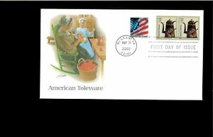 2002-First-day-Cover-American-Toleware