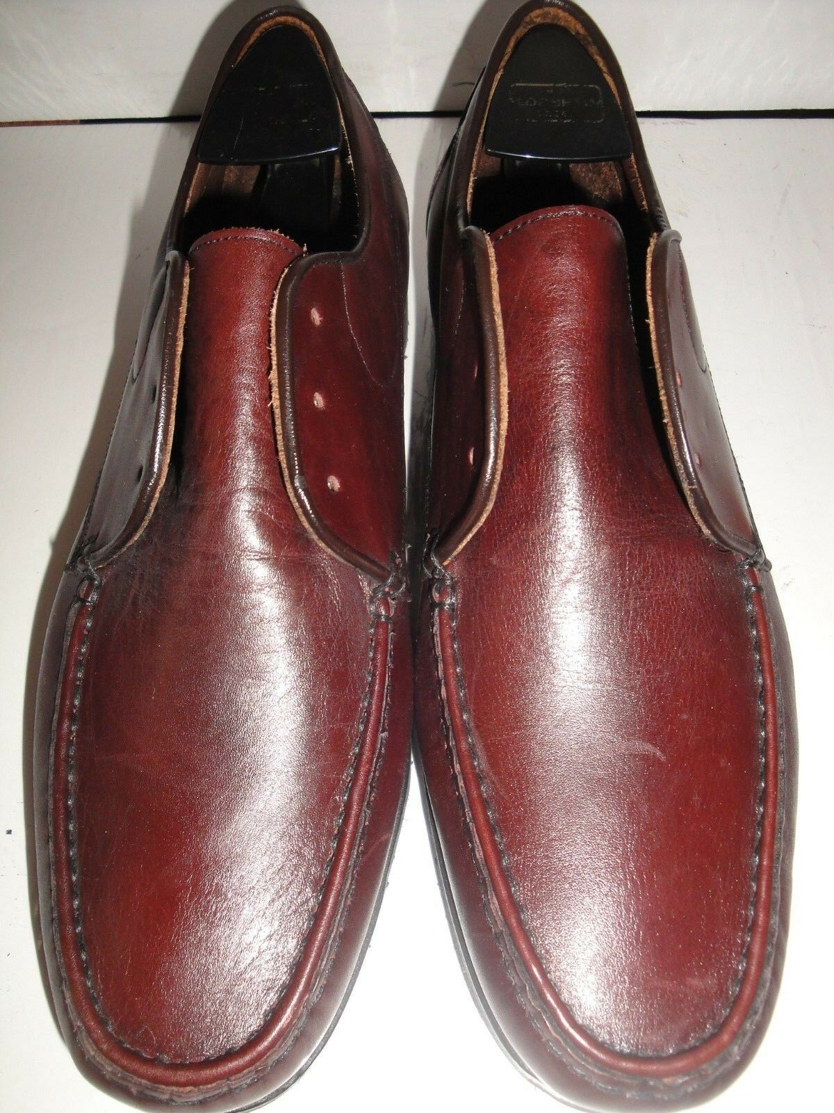 E. T. Wright Dark Brown Leather Oxfords Men's shoes Size 8.5C