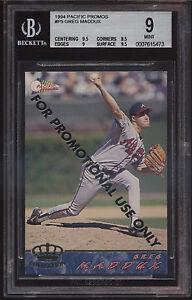 1994-Pacific-Promo-Greg-Maddux-Mint-BGS-9-Subs-9-5-Atlanta-Braves